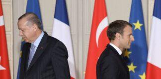 scontro tra Francia e Turchia