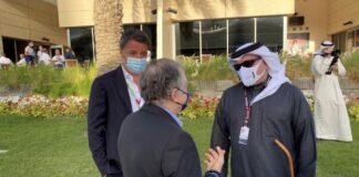 Matteo Renzi in Bahrain