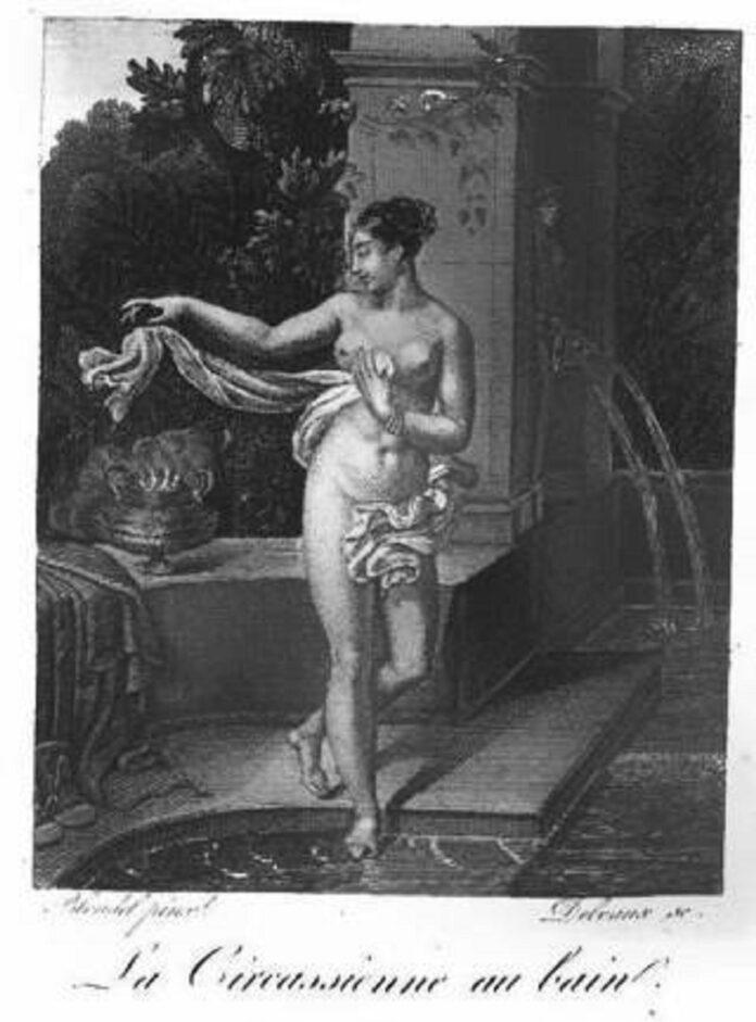 La Circassienne au bain