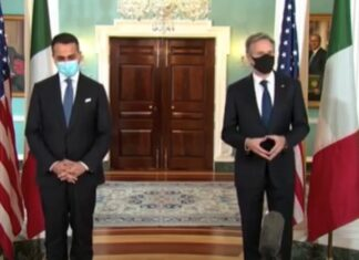 Italia-USA: Di Maio a Washington incontra Blinken