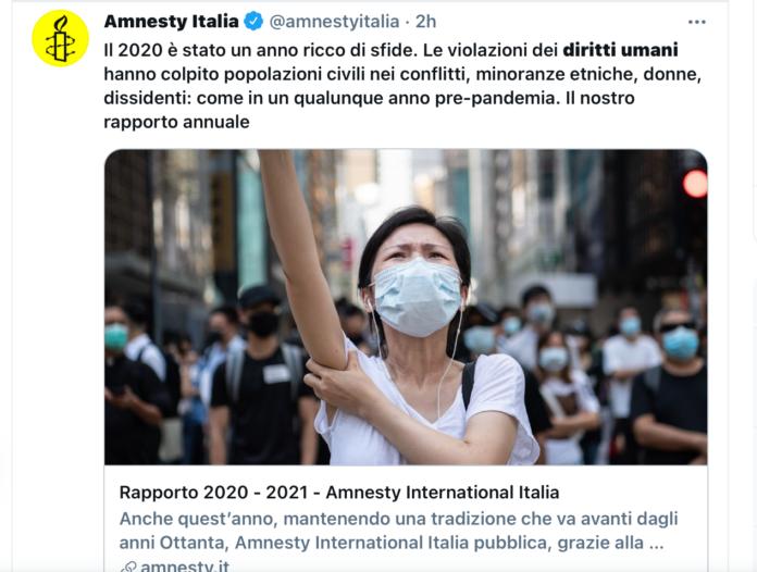 Lesione diritti umani
