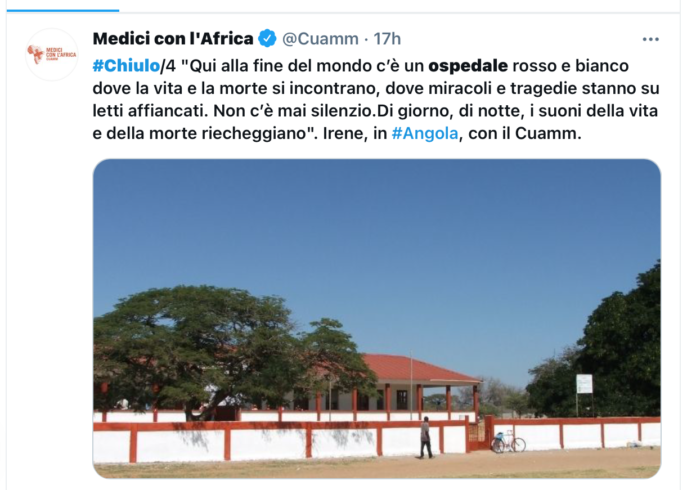 L'ospedale africano