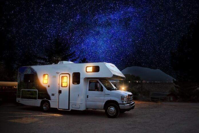 Estate in camper