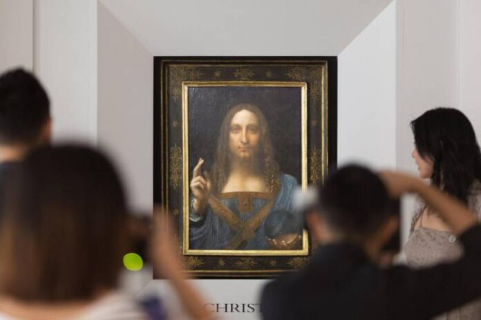 Salvator Mundi un falso