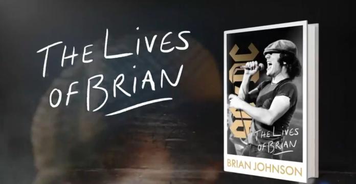 The Lives of Brian, il libro del cantante degli AC/DC
