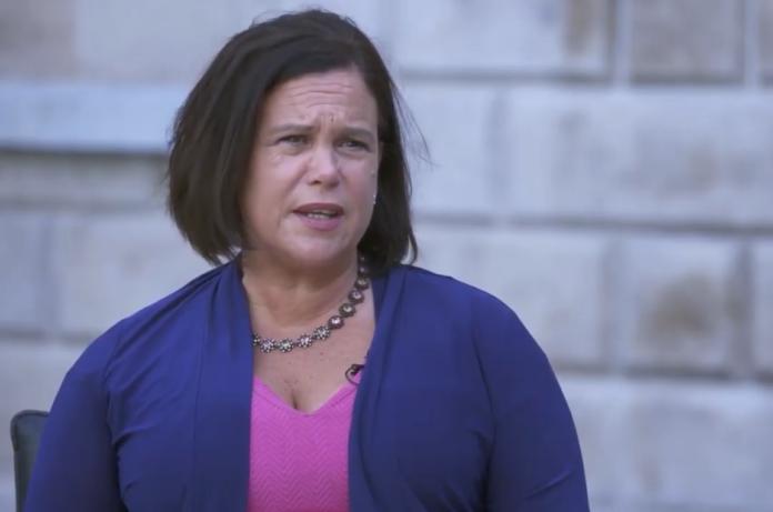 Mary ou McDconald, leader di Sinn Fein