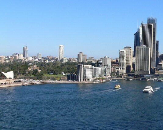 Biennale di Sydney fiume