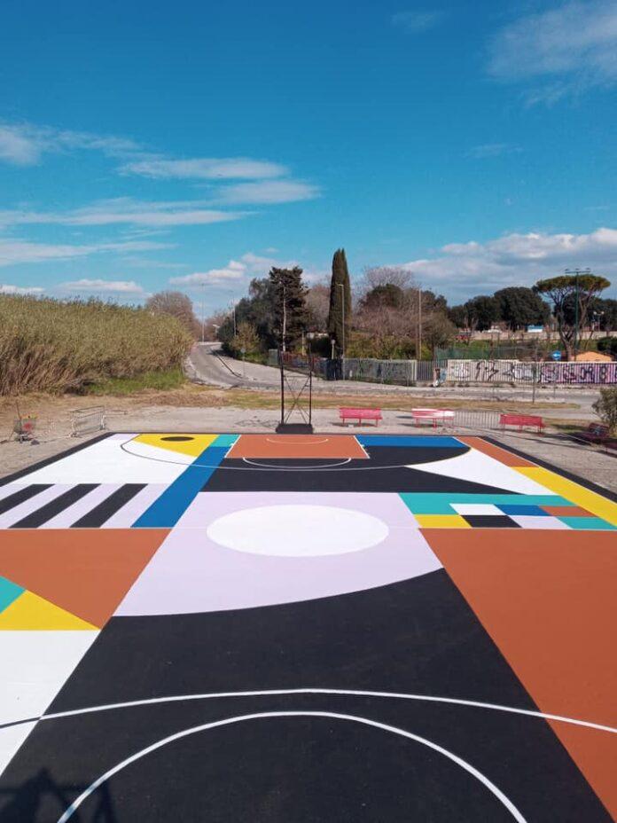 basket playground artistico