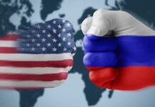 Jet militare russo scorta aereo spia statunitense