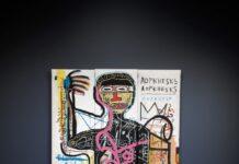 """""""Versus Medici"""" di Basquiat"""