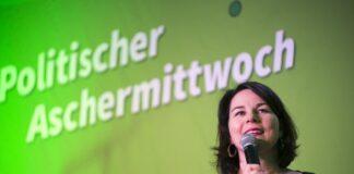 Annalena Baerbock candidata cancelliera