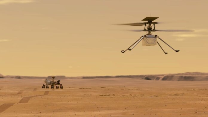 Ingenuity Mars: