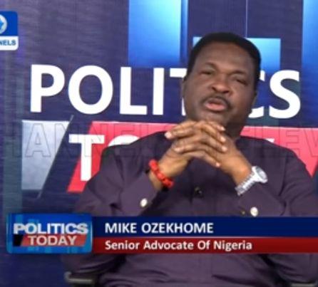 Mike Ozekhome contro il presidente