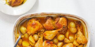 pollo e patate brasati