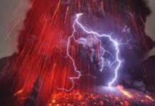 Erutta il vulcano Sakurajima