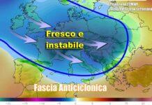 Affondo polare in Europa