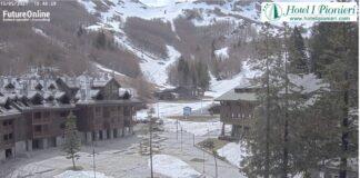 Ancora neve sull'Appennino settentrionale