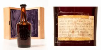 whisky più antico conosciuto