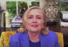 Hillary Clinton parla dei pericoli della disinformazione
