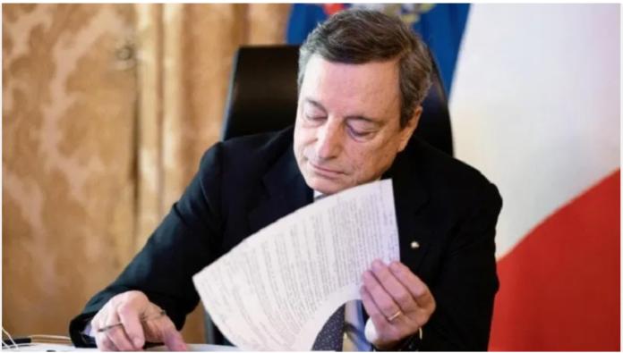 Il rischio ragionato Draghi