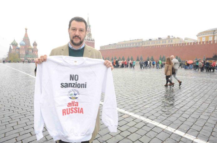 Lega e Salvini sulla Russia