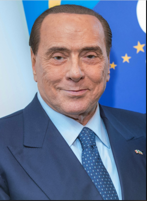 Silvio Berlusconi furioso