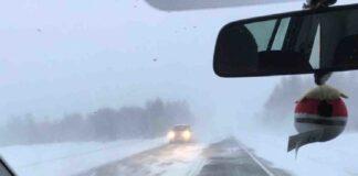 Tempesta di neve