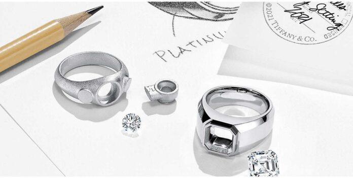 Tiffany e Co anelli fidanzamento uomo