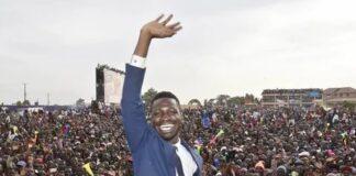Bobi Wine in Uganda