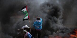scontri a Nablus