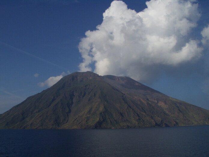 eruzione a Stromboli