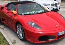 Boss in Ferrari