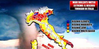 Rischio tornado in Italia
