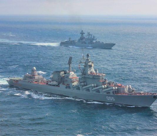 Manovre della marina russa