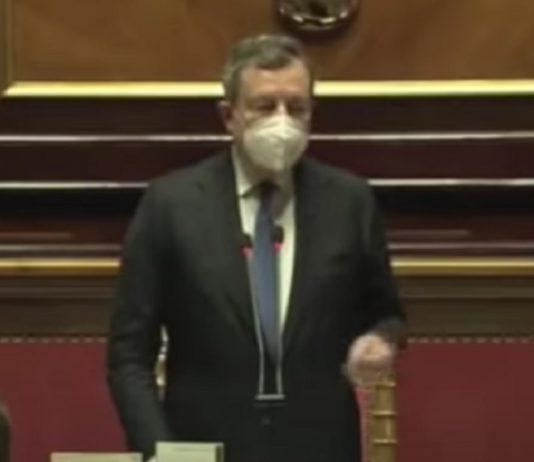 """Draghi: """"Siamo uno Stato laico, non confessionale"""""""