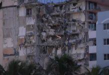 Miami: crolla un palazzo