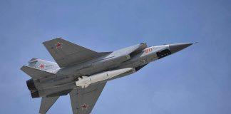 Missili ipersonici Kinzhal a MiG-31