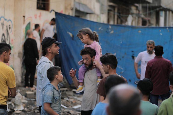 ebrei e palestinesi