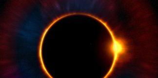 un'eclissi solare
