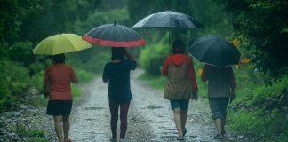 4 acconciature per la pioggia