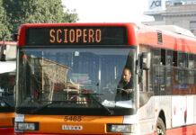 Sciopero autobus
