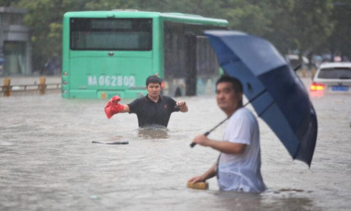 Alluvione in Cina