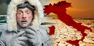 Caldo africano sull'Italia