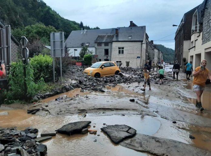 Nuova alluvione in Belgio