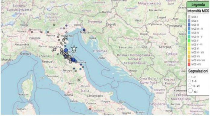 Terremoto in Emilia Romagna