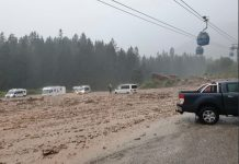 Alluvione lampo a Siusi