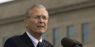 Morto Donald Rumsfeld