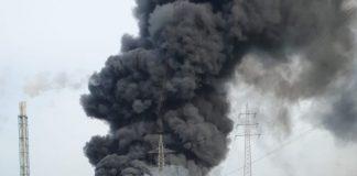 Esplode impianto chimico