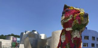 """Puppy"" al Guggenheim"
