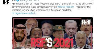 Predatori della libertà di stampa